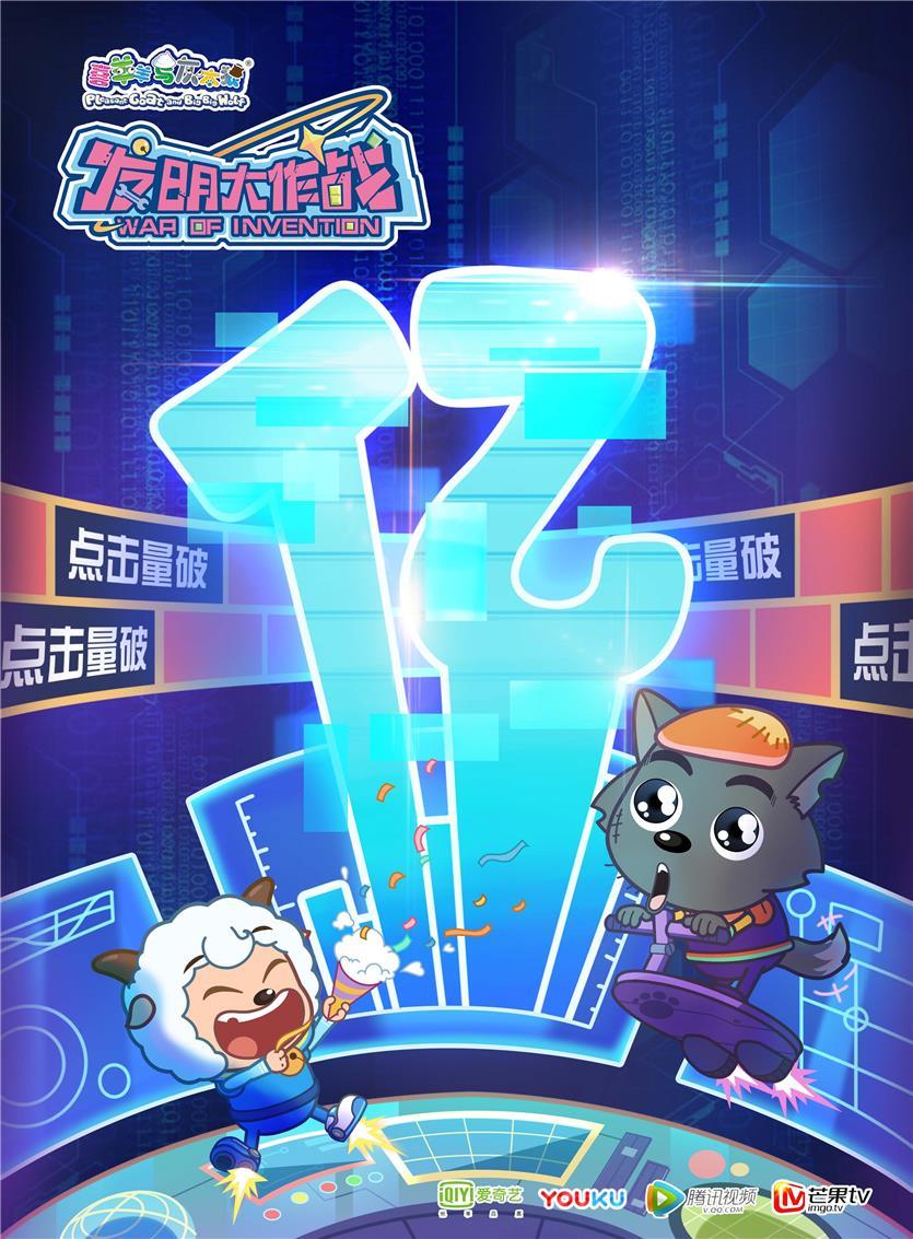 上线22日,《发明大作战》网播破亿啦!